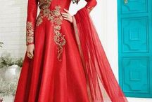 Party Wear Designer Dresses / Get the #celebrity look by draping these #designer #salwarsuits #collection only from #SareesBazaar. #Shop them now from http://www.sareesbazaar.co.uk/Catalogue/Celebrity-Inspired/Suits-Collection