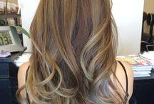 Hair colour for olive skin/brunettes