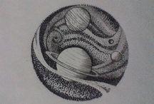 Tatoos sistema solar