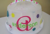 IDEA'S - MONOGRAMMED GIFTS / by Vickie Aldrich