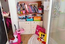 Διακόσμηση παιδικύ δωματίου