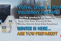 FreezePro® Frost Protection Systems / Preventive maintenance products, used in harsh cold environments. Heated insulation for valves, pipes, tanks, and barrel drums