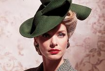 Women's fashion vintage hats