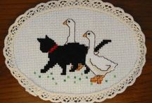 Cats in Cross Stitch freebies