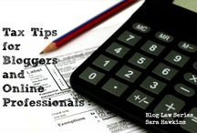 Taxes & Finance for Bloggers and Solopreneurs / by Jimmie Lanley