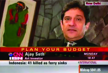 Mr.Ajay Seth on CNN IBN / Mr.Ajay Seth on CNN IBN