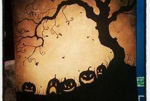 Halloween and Autumn studio's