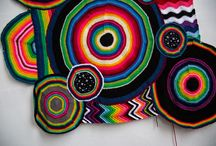 Nancy Tjong - Fiber Art / I'm a visual artist with Asian roots in the Caribbean working from Delft, a city between Rotterdam and The Hague in The Netherlands.   My art explores the notion of one's identity, transcultural & third culture aesthetics and feminist ideals with multi-colored crocheted yarn. In my artistic practice, which is associated with craft, fashion and women's work, I examine different female identities. The costumes can be seen as different female energies vibrating through the atmosphere.