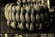 Paracord  / Paracord bracelets, dog collars, key chains, monkey fists, knots, wraps, hats, gun slings and so much more can all be found here.