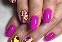 nails połączenia kolorystyczne