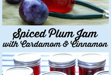 Plum Recipes / Plums, sweet & savory, all in one place.