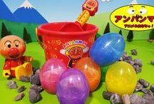 アンパンマン たまご❤アンパンマンおもちゃアニメ キャラクター エピソード21 Anpanman Surprise Eggs