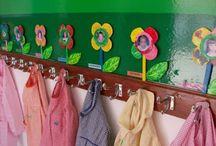 decoração de cabides (creche & jardim)