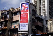 Mumbai City Hoardings - Giftex 2015