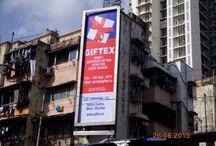 Mumbai City Hoardings - Giftex 2015