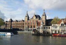 Amsterdam / Städtereisen nach Amsterdam im Frühling