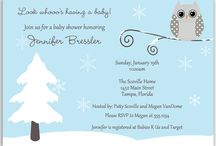 Winter Baby Shower Ideas / It's the most wonderful time of the year...for a baby shower!  The Invite Lady shares their top tips and tricks for planning the perfect winter baby shower