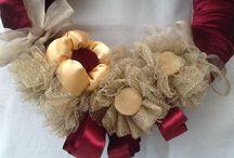 My Design - door decor- wreath / For order  kapisusudoordecor@gmail.com