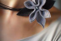 plsť - šperky