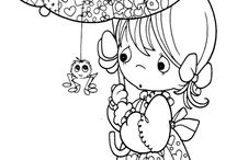 Coloring Pages / by Kimberly Hamner