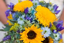 A Sunflower Affair / Check out Sunflower Cakes @ Make Mine Rustic Wedding Cakes & More / by Lynn Patrick