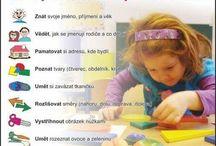 Co by měl umět předškolák