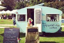 coffee trailers.