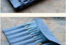 crochet hook holder-
