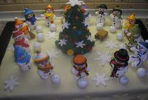 Vánoční pečení / Vánoce chaloupka