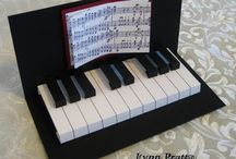 Cards: Music-Themed / by Brenda Parker