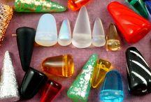 Spike Cone Czech Glass Beads