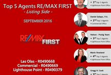 RE/MAX FIRST TOP AGENTS FOR SEPTEMBER 2016