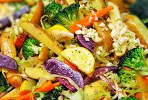 Vegetable protein dishes