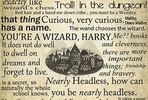 NERD Alert - Mainly Harry Potter / Books I love, I love books... this is mainly dedicated to Harry Potter with a sprinkle of a few other things! / by Sarah Huinker