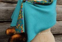 Tweed Wraps, Shawls & Stoles / Elegantly stylish tweed for the town or country