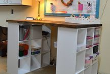 Craft Storage Ideas / Storage ideas for crafts and craft rooms I like,