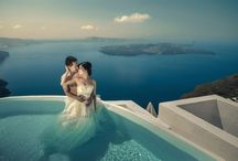 Weddings &  Honeymoons / A fairytale come true in Santorini, in the most romantic setting of the world for holding your wedding and enjoying a fabulous honeymoon!