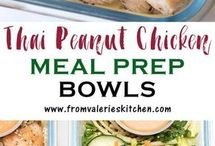 thai chicken bowls