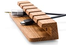 Kleine houten accessoires