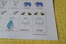 Bilingual Printables/Kids Educational Printables / Bilingual Game Printables to help kids and adults learn a foreign language, specifically Spanish, English and Dutch.  Memory matching games and educational game printables for kids, school, homeschool and family time!