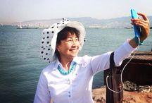 Selfie / #Selfie time in Turkey! :)  #Turkey #Chinese #Travel #Explore #Smile