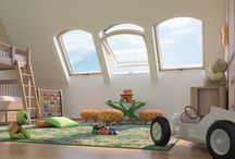 Una mansarda da vivere / Tante soluzioni per illuminare la mansarda con luce naturale, per renderla più vivibile.