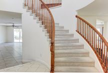 I'll take the Stairs! / All the beautiful stairs in homes in Las Vegas. www.LasVegasHomes.com