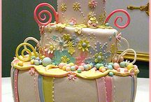 Cakes / by Diana Cantrell-Brown