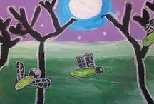 kiddo art projects / by April Oliphant Shipman