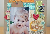 81/2 x 11 scrapbook layouts