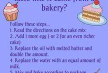 Box cake mixes
