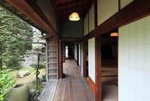 Old Japanese house and furniture