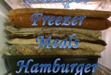 Crockpot and Freezer Meals