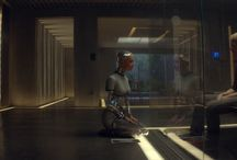 [12-36] 'Ex Machina' Cinematography Study / Reference for composition, staging and set lighting.